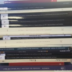 Catálogos y Libros de Monedas: CATÁLOGOS SUBASTAS NUMISMÁTICAS. LOTE DE 20 CATÁLOGOS DE PRIMERAS FIRMAS. . Lote 129421255