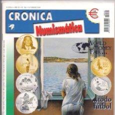 Catálogos y Libros de Monedas: REVISTA CRÓNICA NUMISMÁTICA - Nº156 - 15 FEBRERO 2004. Lote 130063687