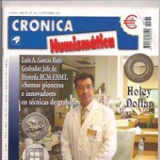Catálogos y Libros de Monedas: REVISTA CRÓNICA NUMISMÁTICA - Nº162 - 15 SEPTIEMBRE 2004. Lote 130063999