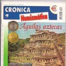 Catálogos y Libros de Monedas: REVISTA CRÓNICA NUMISMÁTICA - Nº163 - 15 OCTUBRE 2004. Lote 130064219