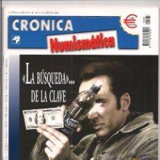 Catálogos y Libros de Monedas: REVISTA CRÓNICA NUMISMÁTICA - Nº167 - 15 FEBRERO 2005. Lote 130207435