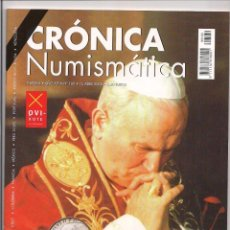 Catálogos y Libros de Monedas: REVISTA CRÓNICA NUMISMÁTICA - Nº169 - 15 ABRIL 2005. Lote 130207531