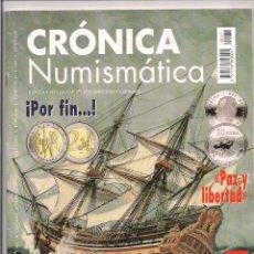 Catálogos y Libros de Monedas: REVISTA CRÓNICA NUMISMÁTICA - Nº171 - 15 JUNIO 2005. Lote 130207607