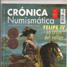Catálogos y Libros de Monedas: REVISTA CRÓNICA NUMISMÁTICA - Nº173 - 15 SEPTIEMBRE 2005. Lote 130207731