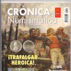 Catálogos y Libros de Monedas: REVISTA CRÓNICA NUMISMÁTICA - Nº174 - 15 OCTUBRE 2005. Lote 130207775