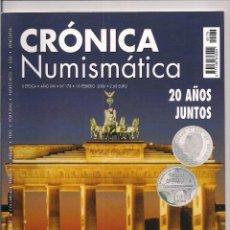 Catálogos y Libros de Monedas: REVISTA CRÓNICA NUMISMÁTICA - Nº178 - 15 FEBRERO 2006. Lote 130256618
