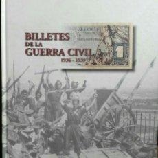 Catálogos y Libros de Monedas: CATALOGO ALBUM BILLETES DE LA GUERRA CIVIL. ENVIO INCLUIDO EN EL PRECIO.. Lote 131049087