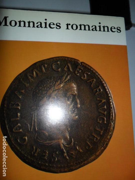 MONNAIES ROMAINES, C.H.V. SUTHERLAND, ED. OFFICE DU LIVRE (Numismática - Catálogos y Libros)