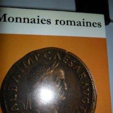 Catálogos y Libros de Monedas: MONNAIES ROMAINES, C.H.V. SUTHERLAND, ED. OFFICE DU LIVRE. Lote 131643582