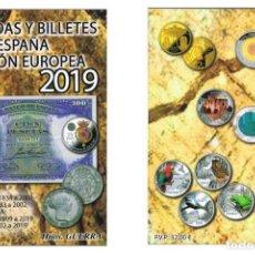 Catálogos y Libros de Monedas: CATALOGO MONEDAS ESPAÑOLAS Y U.E 1808 - 2019 GUERRA 2019 BILLETES DE 1783 A 2019. Lote 151252597