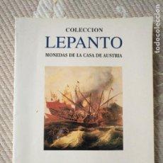 Catálogos y Libros de Monedas: HAGA SU OFERTA MAS EN TIENDA CATALOGO MONEDAS AUREO: COLECION LEPANTO CASA AUSTRIA 1999. Lote 136359370