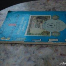 Catalogues et Livres de Monnaies: LAS MONEDAS Y BILLETES ESPAÑOLES 1968-1980. ESPECIALIZADO. 1979. TAPA RUSTICA.. Lote 136397890