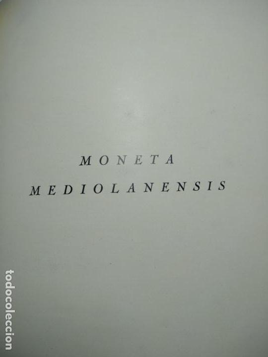 Catálogos y Libros de Monedas: IMPORTANTE OBRA EN ITALIANO - MONETA MEDIOLANENSIS ( 352-498) OSCAR ULRICH-BANSA - 27 LÁMINAS - - Foto 3 - 136762374