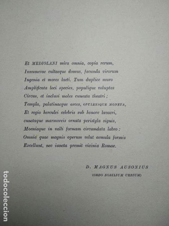 Catálogos y Libros de Monedas: IMPORTANTE OBRA EN ITALIANO - MONETA MEDIOLANENSIS ( 352-498) OSCAR ULRICH-BANSA - 27 LÁMINAS - - Foto 7 - 136762374