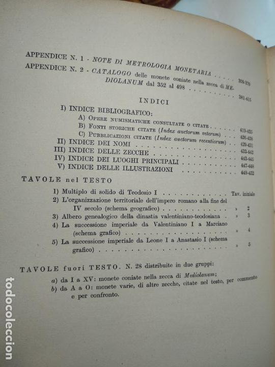 Catálogos y Libros de Monedas: IMPORTANTE OBRA EN ITALIANO - MONETA MEDIOLANENSIS ( 352-498) OSCAR ULRICH-BANSA - 27 LÁMINAS - - Foto 9 - 136762374
