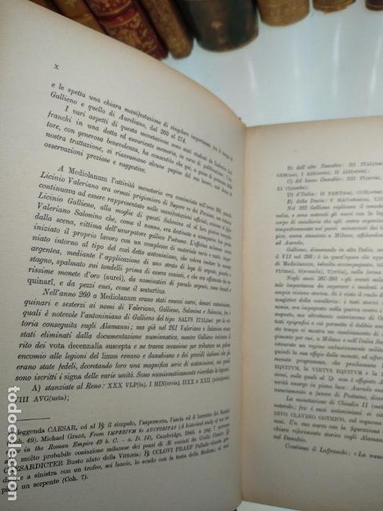 Catálogos y Libros de Monedas: IMPORTANTE OBRA EN ITALIANO - MONETA MEDIOLANENSIS ( 352-498) OSCAR ULRICH-BANSA - 27 LÁMINAS - - Foto 12 - 136762374