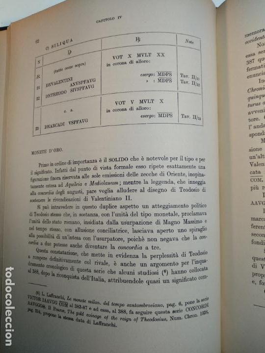 Catálogos y Libros de Monedas: IMPORTANTE OBRA EN ITALIANO - MONETA MEDIOLANENSIS ( 352-498) OSCAR ULRICH-BANSA - 27 LÁMINAS - - Foto 15 - 136762374