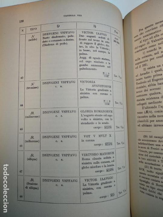 Catálogos y Libros de Monedas: IMPORTANTE OBRA EN ITALIANO - MONETA MEDIOLANENSIS ( 352-498) OSCAR ULRICH-BANSA - 27 LÁMINAS - - Foto 16 - 136762374