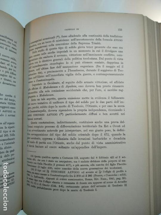 Catálogos y Libros de Monedas: IMPORTANTE OBRA EN ITALIANO - MONETA MEDIOLANENSIS ( 352-498) OSCAR ULRICH-BANSA - 27 LÁMINAS - - Foto 17 - 136762374