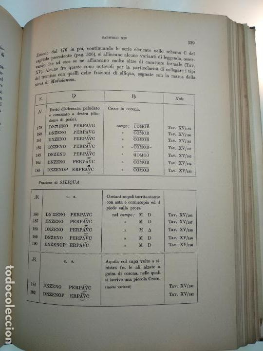 Catálogos y Libros de Monedas: IMPORTANTE OBRA EN ITALIANO - MONETA MEDIOLANENSIS ( 352-498) OSCAR ULRICH-BANSA - 27 LÁMINAS - - Foto 18 - 136762374