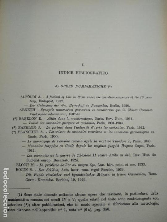 Catálogos y Libros de Monedas: IMPORTANTE OBRA EN ITALIANO - MONETA MEDIOLANENSIS ( 352-498) OSCAR ULRICH-BANSA - 27 LÁMINAS - - Foto 21 - 136762374