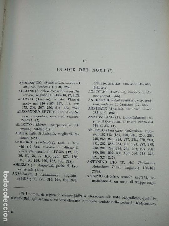 Catálogos y Libros de Monedas: IMPORTANTE OBRA EN ITALIANO - MONETA MEDIOLANENSIS ( 352-498) OSCAR ULRICH-BANSA - 27 LÁMINAS - - Foto 22 - 136762374