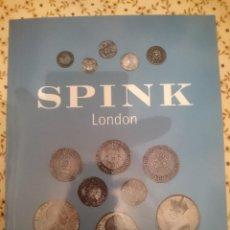 Catálogos y Libros de Monedas: SPINK LONDON - ENGLISH AND SCOTTISH COINS AND TOKENS - 2001 --REFM3E3. Lote 138917078