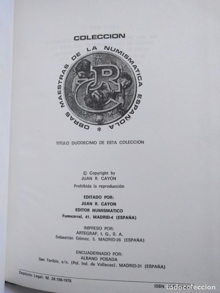 Catálogos y Libros de Monedas: Heiss, Aloiss. Descripción general de las monedas de los reyes visigodos de España · 1978 - Foto 3 - 139455218