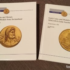 Catálogos y Libros de Monedas: CATÁLOGO SINCONA. SUBASTAS 46 Y 47.. Lote 139920660