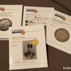 Catálogos y Libros de Monedas: CATÁLOGO SINCONA. SUBASTAS OCTUBRE 2018 (4 VOLÚMENES).. Lote 139920842