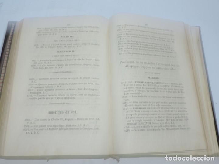 Catálogos y Libros de Monedas: DESCRIPTIONS DES MONNAIES ESPAGNOLES, ET DES MONNAIES ETRANGERES. DE D. JOSE GARCIA DE LA TORRE,1852 - Foto 6 - 140146782