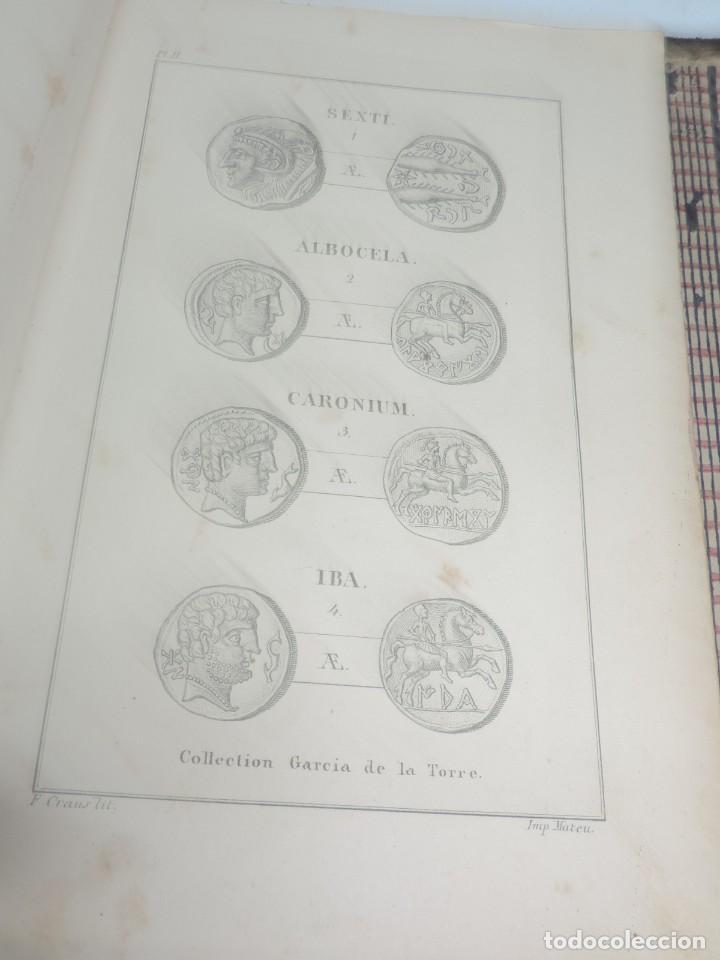 Catálogos y Libros de Monedas: DESCRIPTIONS DES MONNAIES ESPAGNOLES, ET DES MONNAIES ETRANGERES. DE D. JOSE GARCIA DE LA TORRE,1852 - Foto 11 - 140146782