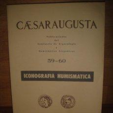 Catálogos y Libros de Monedas: ICONOGRAFIA NUMISMATICA , IMPERIO ROMANO , REINO DE GRANADA , PESETAS MACUQUINAS , ETC. Lote 140919458