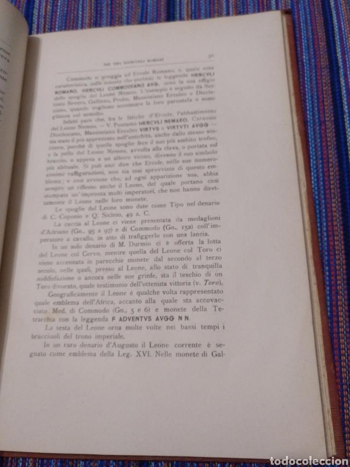 Catálogos y Libros de Monedas: 1916 LA FAUNA E LA FLORA. FRANCESCO GNECCHI. 130 PÁGINAS. RARO LIBRO. - Foto 6 - 140967017