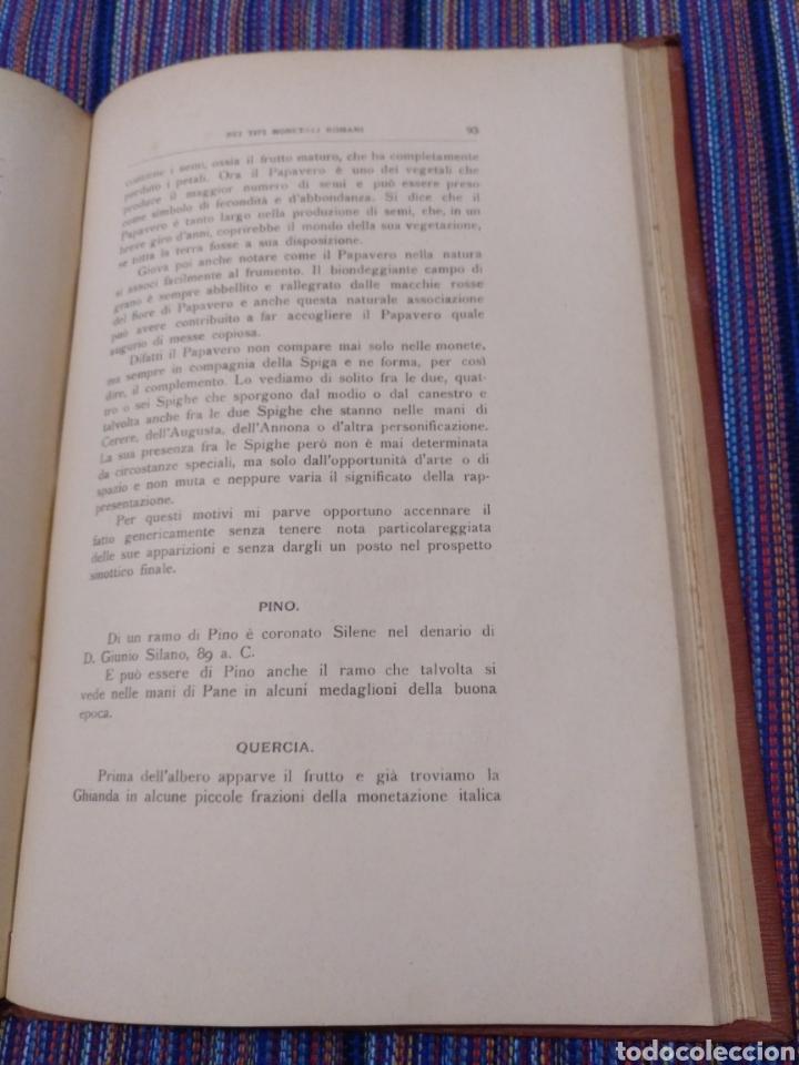 Catálogos y Libros de Monedas: 1916 LA FAUNA E LA FLORA. FRANCESCO GNECCHI. 130 PÁGINAS. RARO LIBRO. - Foto 9 - 140967017