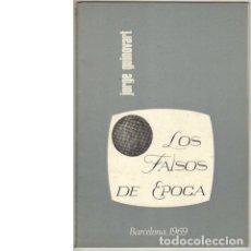 Catálogos y Libros de Monedas: LOS FALSOS DE ÉPOCA. 1876-1906. (JORGE GUINOVART). Lote 109526203