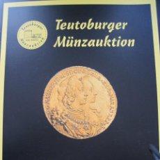 Catálogos y Libros de Monedas: CATÁLOGO TEUTOBURGER 2016. Lote 142293818