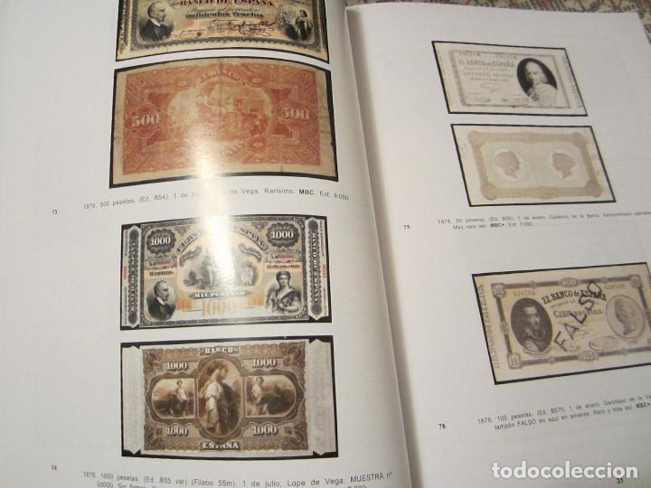 Catálogos y Libros de Monedas: catálogo de billetes colección Marques de la Ensenada - Foto 2 - 143934074