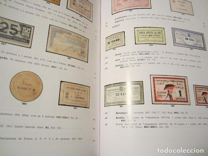 Catálogos y Libros de Monedas: catálogo de billetes colección Marques de la Ensenada - Foto 3 - 143934074