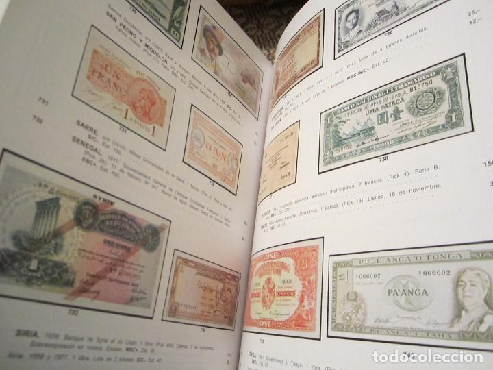 Catálogos y Libros de Monedas: catálogo de billetes colección Marques de la Ensenada - Foto 4 - 143934074