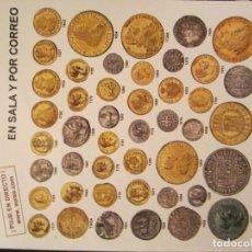 Catálogos y Libros de Monedas: CATÁLOGO DE MONEDAS, BILLETES, MEDALLAS, PRECINTOS, ETCS. Lote 143934618