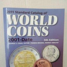 Catálogos y Libros de Monedas: STANDARD CATALOG OF WORLD COINS 2001-2011. 5TH EDITION. Lote 144933282