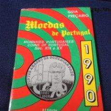 Catálogos y Libros de Monedas: CATALOGO DE MONEDAS DE PORTUGAL ANUARIO DE NUMISMATICA 1990 (1800-1990). Lote 145060378