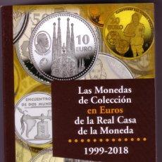 Catálogos y Libros de Monedas: 2018 CATALOGO LAS MONEDAS DE COLECCIÓN EN EUROS DE LA REAL CASA DE LA MONEDA. Lote 145339334