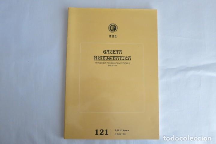 GACETA NUMISMATICA ANE 121 (Numismática - Catálogos y Libros)
