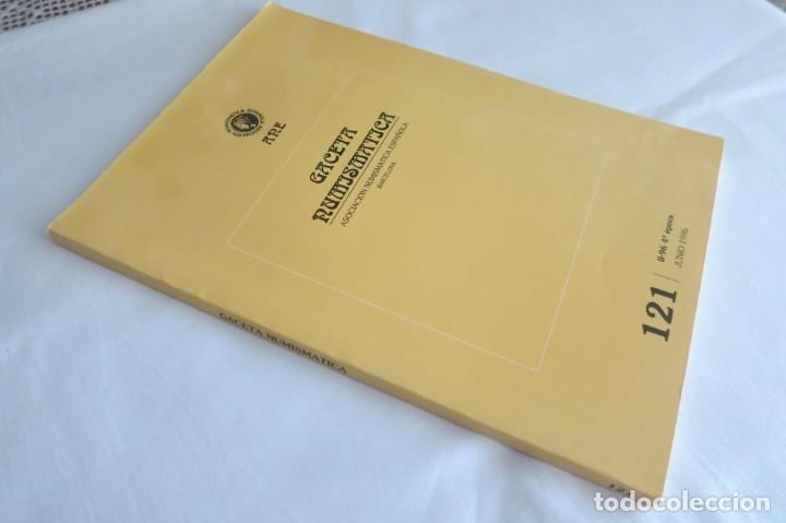 Catálogos y Libros de Monedas: Gaceta numismatica Ane 121 - Foto 3 - 145736966