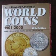 Catálogos y Libros de Monedas: 2011 STANDARD CATALOG OF WORLD COINS 1901-2000. Lote 146351058