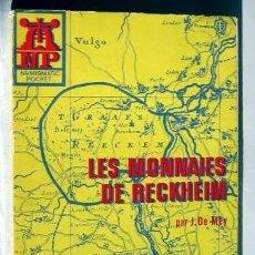 Catálogos y Libros de Monedas: LES MONNAIES DE RECKHEIM- J.LE MAY. Lote 146492046