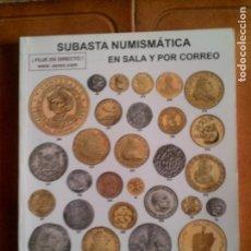 Catálogos y Libros de Monedas: CATALOGO SUBASTA NUNISMATICA AUREO ,CALICO JULIO DEL 2015 . Lote 146716106