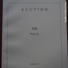 Catálogos y Libros de Monedas: NUMISMATICA ARS CLASSICA - 106 PART II MONEDA GRIEGA ROMANA BIZANTINA. Lote 147447690